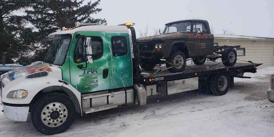 TRK Towing Flat Bed