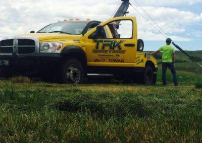 TRK summer towing