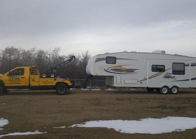 TRK Towing a camper trailer