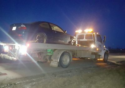 TRK Towing at night 2