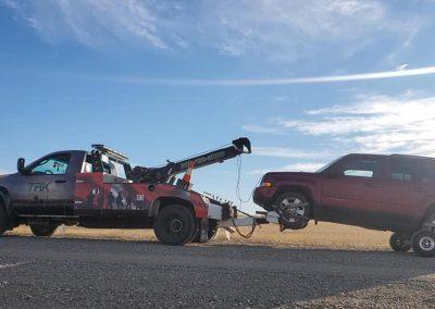 TRK Towing Veteran Tribute SUV